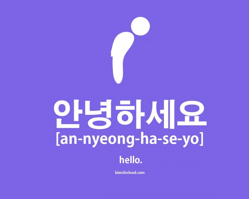 안녕하세요 - How To Say Hello in Korean