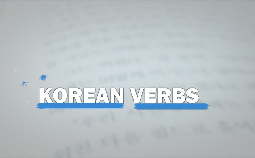 Korean Verbs