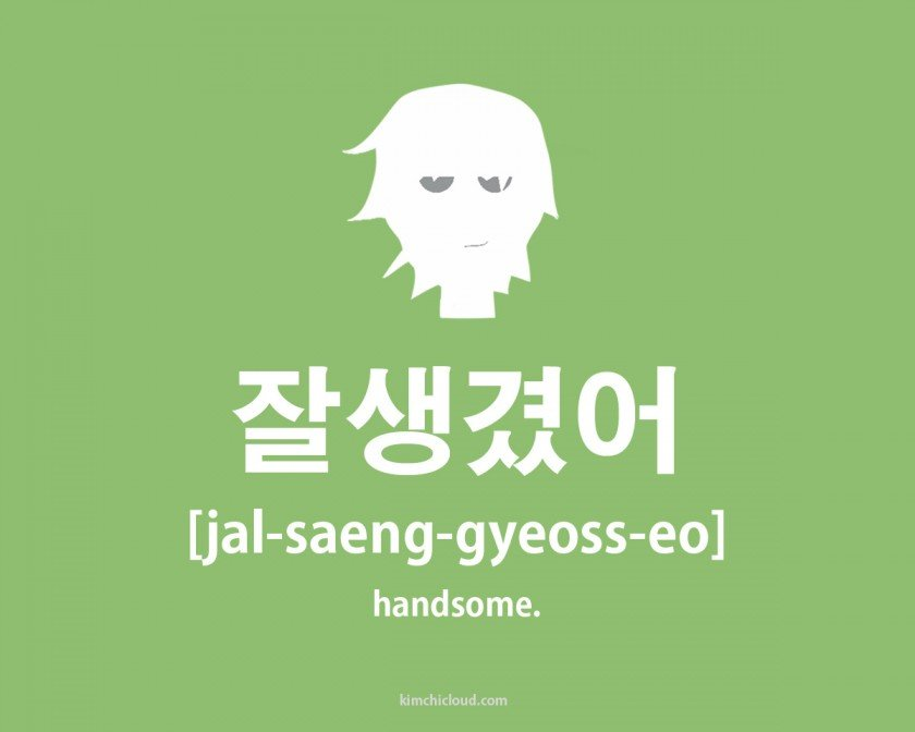 How To Say Handsome in Korean