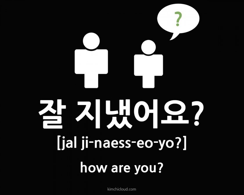 How to say how are you in korean
